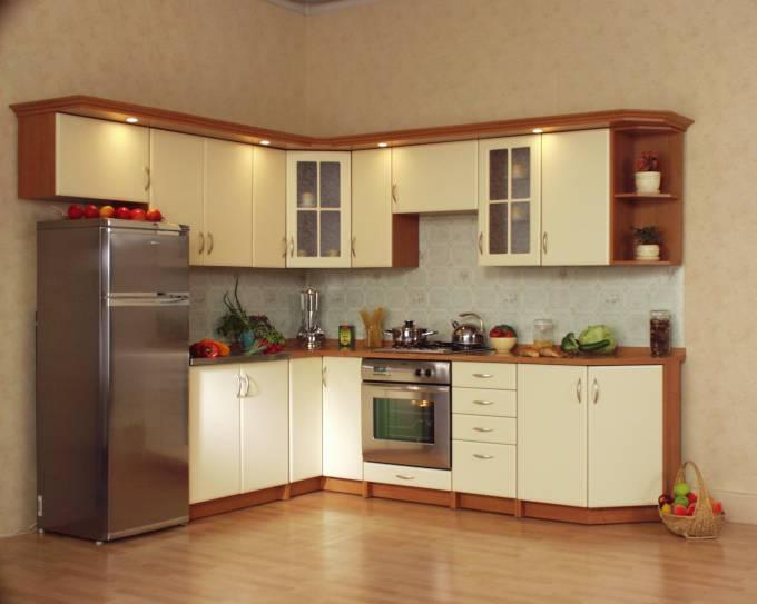 Rohová kuchyně Mydelko - Vanilka
