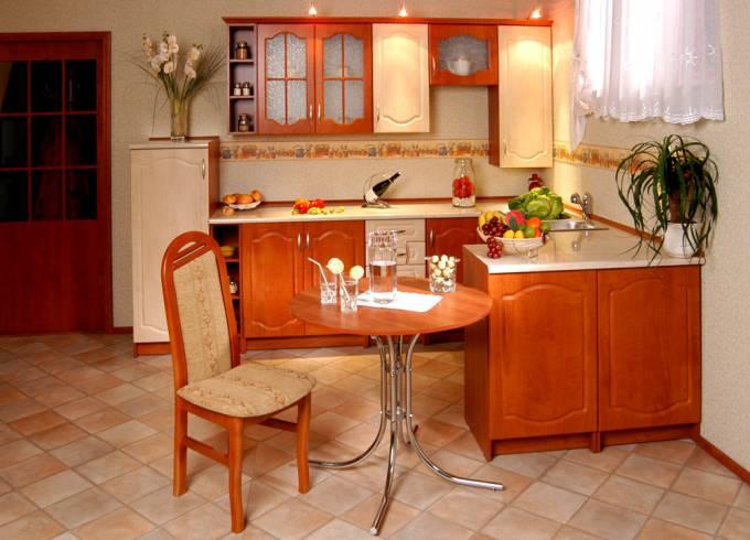 Rohová kuchyně na míru Napoleon 2 - Calvados