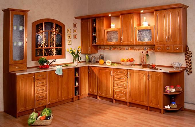 Rohová kuchyně na míru Patera - Olše