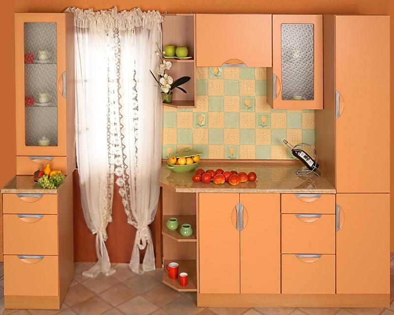 Kuchyně na míru Klamka - papay