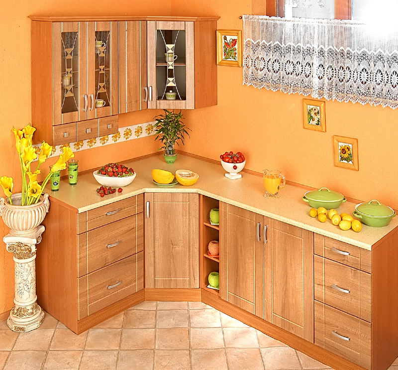 Rohová kuchyně na míru Ramiak - Dub starý