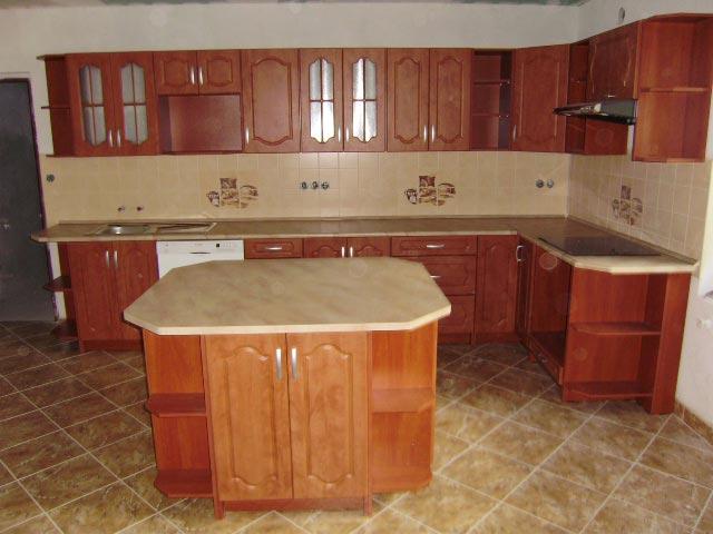 Kuchyně Napoleón 2 calvados s ostrůvkem