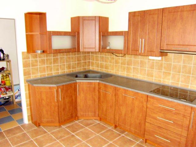 Rohová kuchyně Ramiak calvados