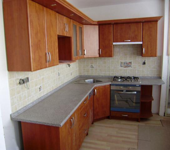 Rohová kuchyně Atos kalvados