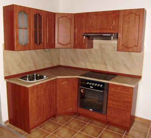 Malá rohová kuchyně Napoleón 2 kalvádos