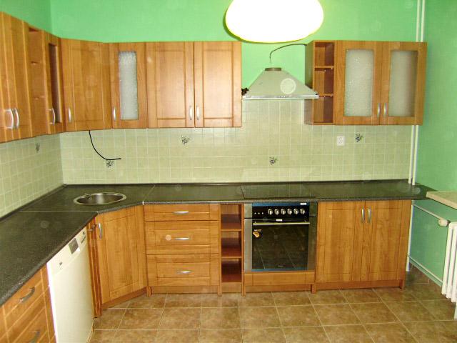 Rohová kuchyně Ramiak olše
