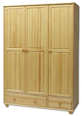 Šatní skříň SF121 masiv - borovice