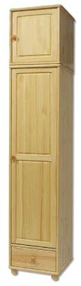 Šatní skříň SF125 masiv - borovice