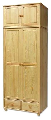 Šatní skříň SF126 masiv - borovice