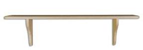 Polička PK120 masiv - borovice - výprodej