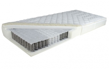 Matrace taštičková Samos léto/zima - šířka od 80 do 200 cm
