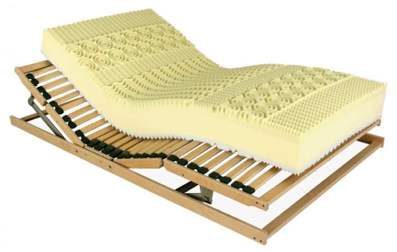 Matrace pěnová Memory Bio Aloe vera - šířka od 80 do 200 cm