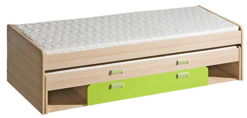 Dětská postel s přistýlkou a úložným prostorem Lorento L16