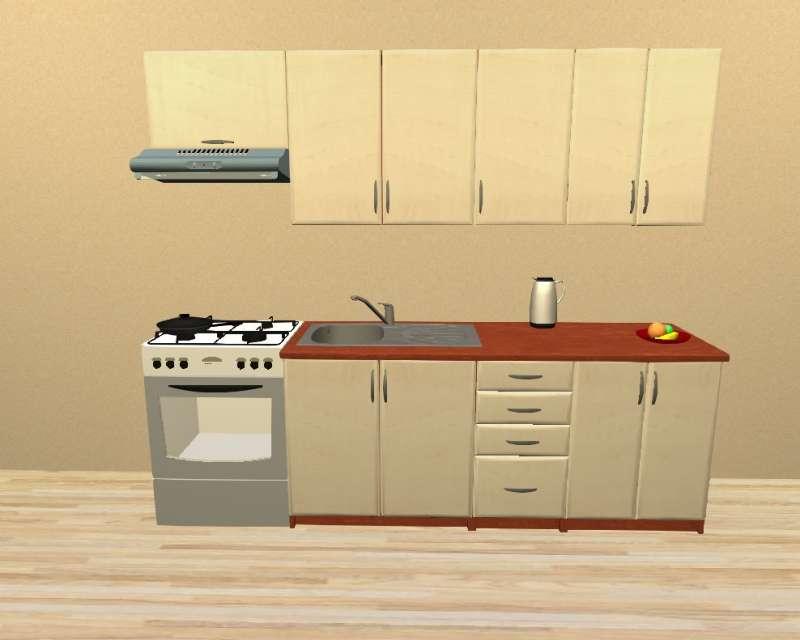 Sektorová kuchyně 240 cm