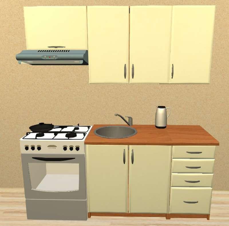 Sektorová kuchyně 180 cm