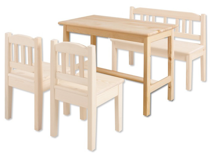 Dětský stůl AD242 masiv borovice