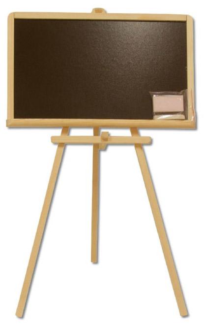 Dřevěná tabule na psaní křídami AD263