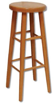 Barová židle 80 cm KT240 masiv buk