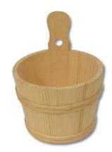 Dřevěné vědro GD244