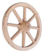 Dřevěné kolo GD332