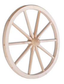 Dřevěné kolo GD335