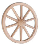 Dřevěné kolo GD333