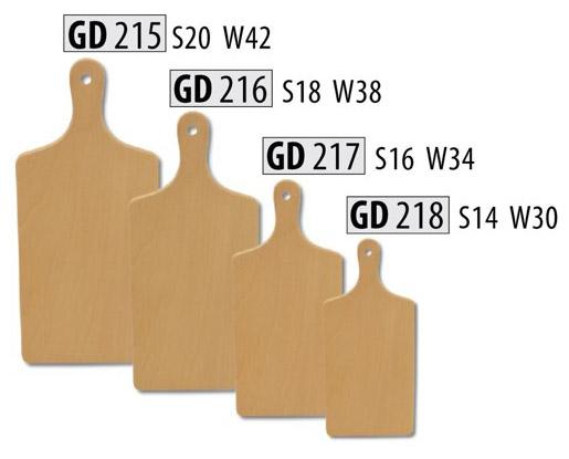 Dřevěné kuchyňské prkénko GD218