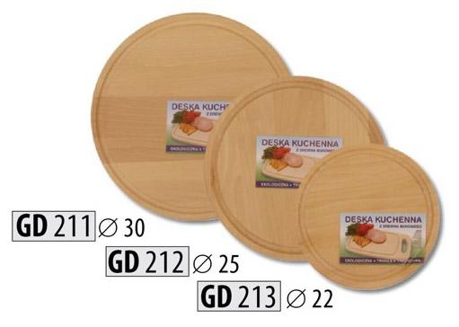 Dřevěné kuchyňské prkénko GD212