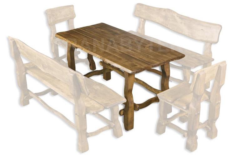 Zahradní stůl MO101 - lakovaný