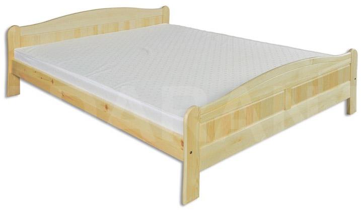 Dřevěná postel dvojlůžko - výprodej