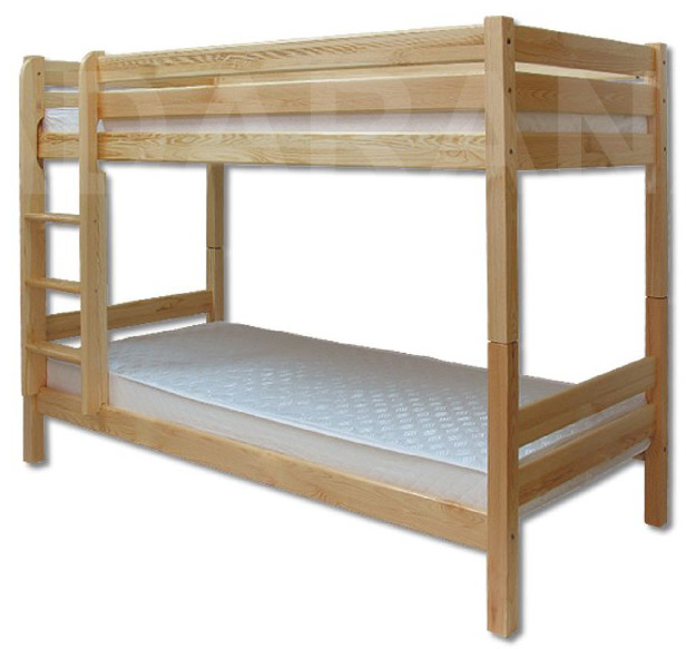 Dětská dřevěná postel palanda LK136