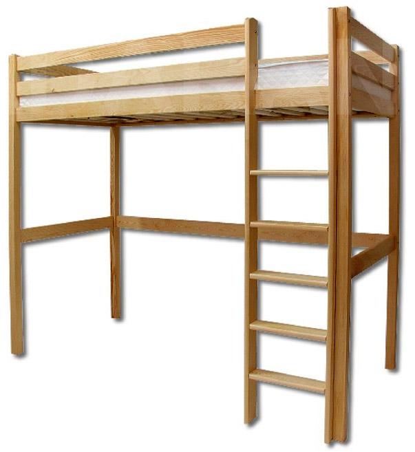 Dětská dřevěná postel LK135