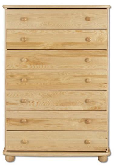 Komoda KD156 masiv - borovice
