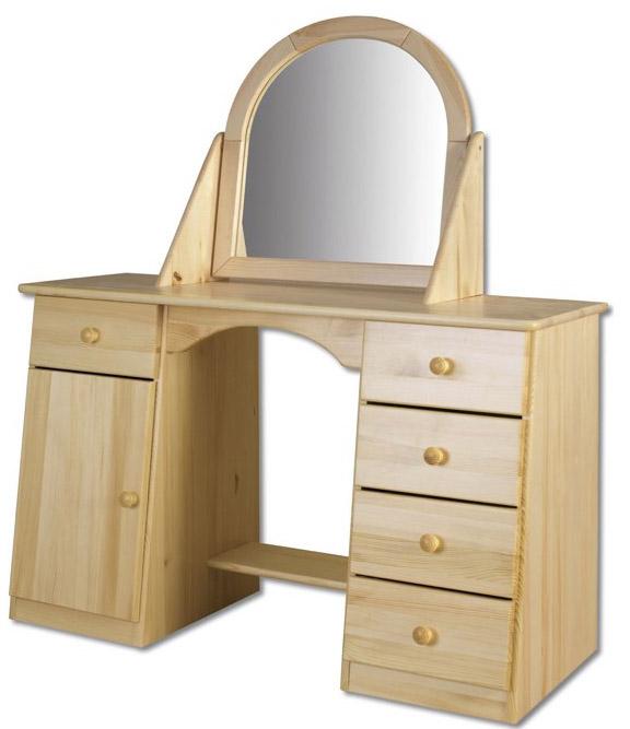 Toaletní stolek se zrcadlem LT107 - borovice