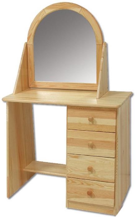 Toaletní stolek se zrcadlem LT108 - borovice