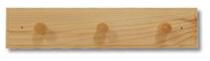 Věšák na šaty WS163 masiv - borovice