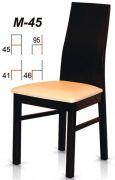 Dřevěná židle M45
