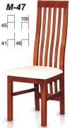 Dřevěná židle M47