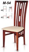 Dřevěná židle M54