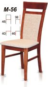 Dřevěná židle M56