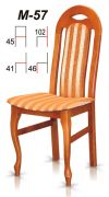 Dřevěná židle M57