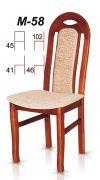 Dřevěná židle M58