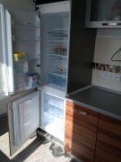 Realizovaná rohová kuchyně Formát slíva s vestavěnými spotřebiči