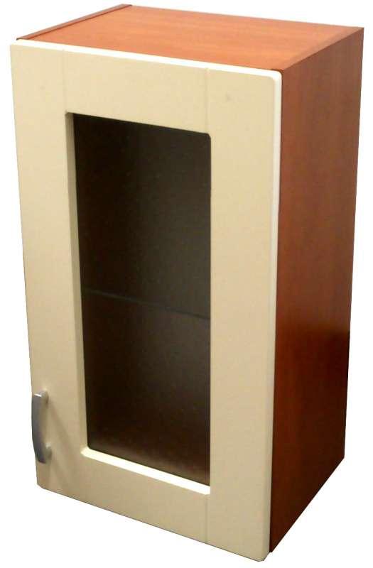 Horní skříňka vitrína 40 cm - výprodej