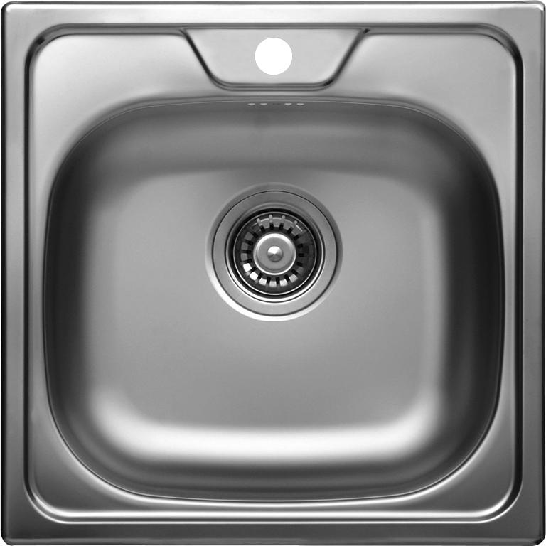Nerezový dřez KROMEVYE CLASSIC 144 + vodovodní baterie