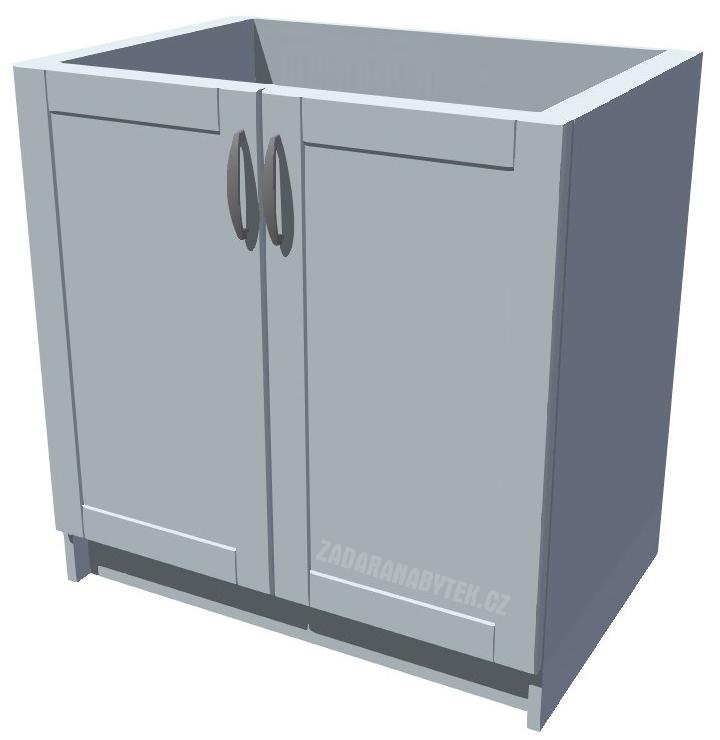 Dřezová kuchyňská skříňka 80 2D dřez