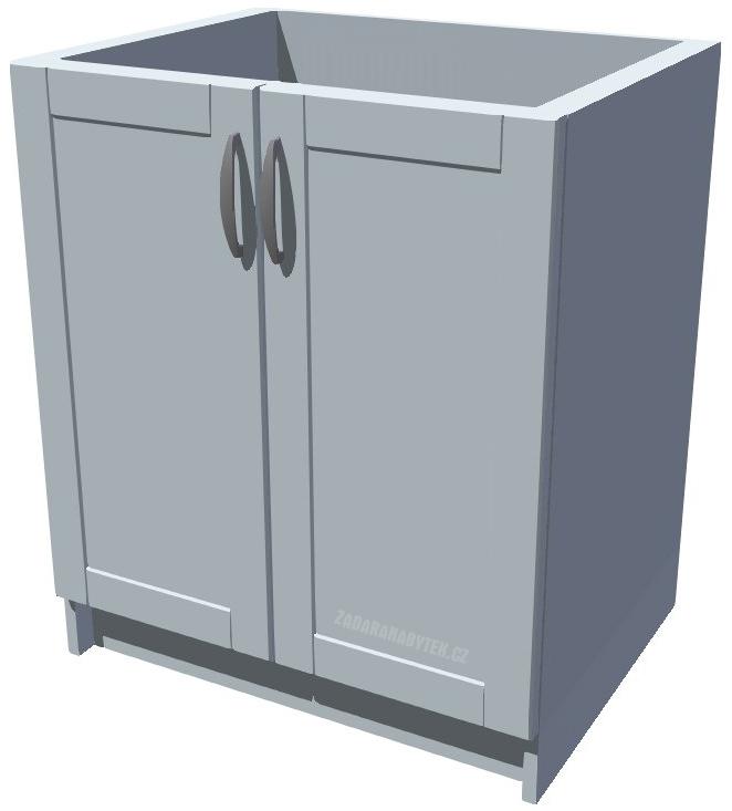 Dřezová kuchyňská skříňka Diana 70 2D
