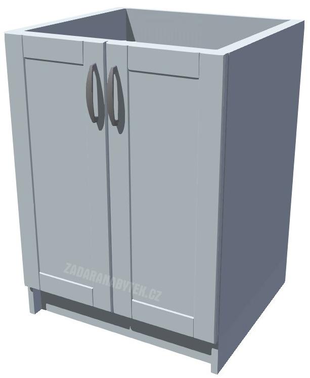 Dřezová kuchyňská skříňka Diana 60 2D dřez