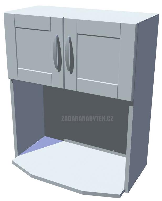 Horní skříňka na mikrovlnku