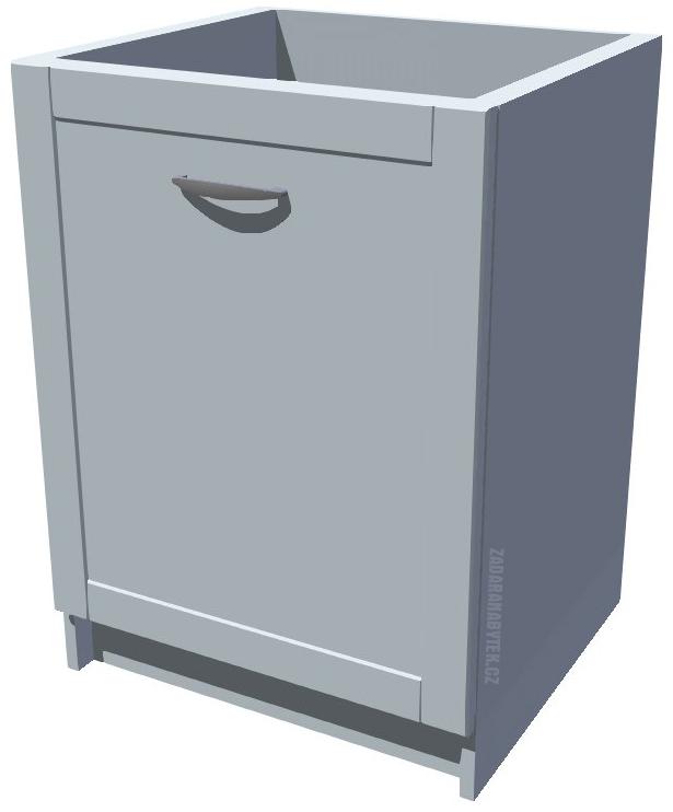Spodní kuchyňská skříňka Diana s drátěným programem 60 cm